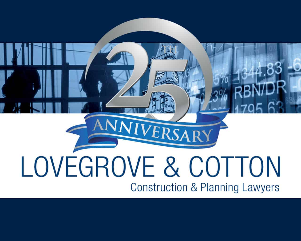 Lovegrove & Cotton – 25 Year Corporate Anniversary