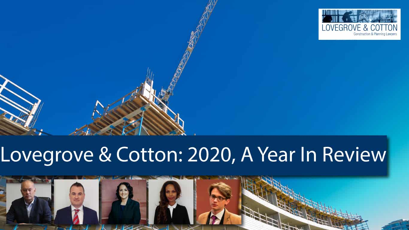 Lovegrove & Cotton: 2020, A Year in Review